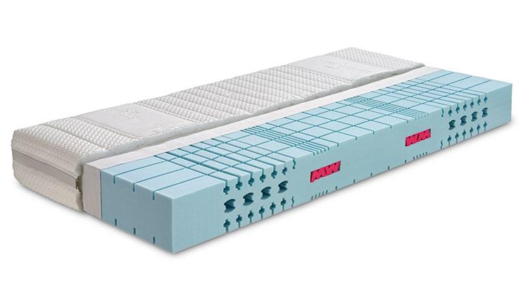 Komfortschaum-Matratze WERKMEISTER M S55 PLUS